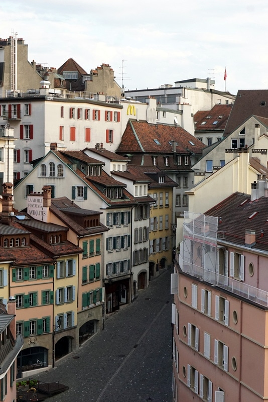 The typical architecture in Lausanne - guide to visiting Lausanne