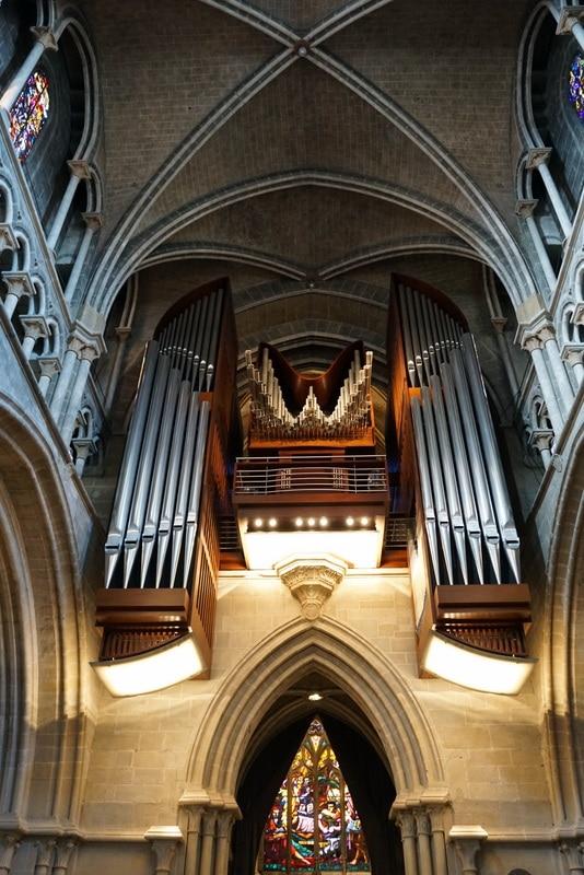 The gorgeous and unique Lausanne organ