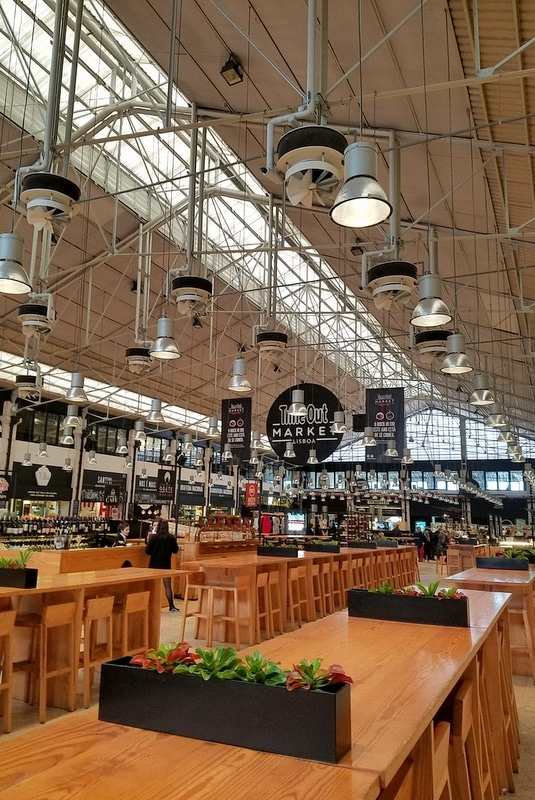 Market in Lisbon