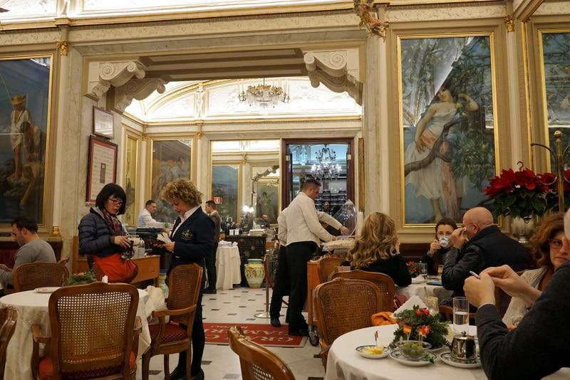 Gran Caffè Gambrinus Naples