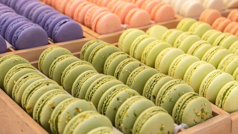 Macarons are a must try food in Paris.