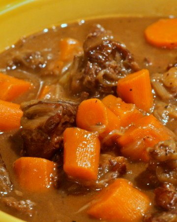 cheap beef Beef Bourguignon recipe