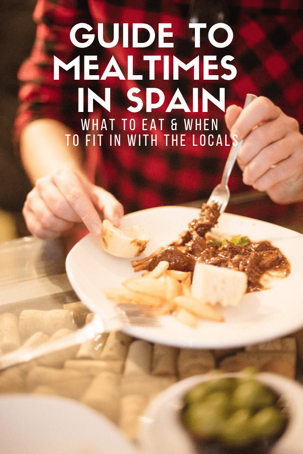 Two breakfasts, five meals a day total, fruit for dessert and olive oil in everything: the Spanish eating style is delicious, but definitely confusing for newcomers! If you're not sure when Spanish people eat, this guide will walk you through how to handle every meal of the day in Spain like a local.