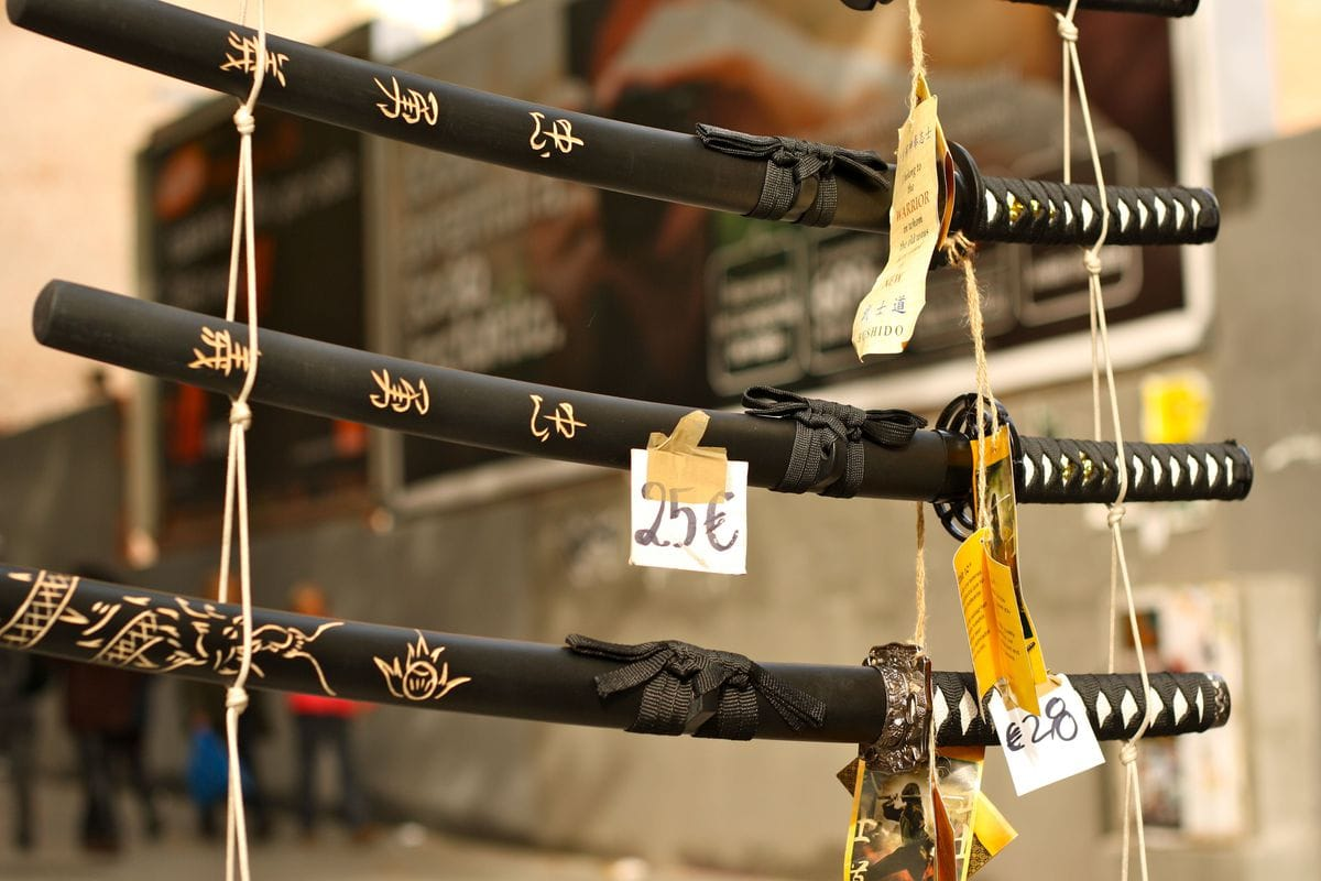 Spanish Samurai Swords