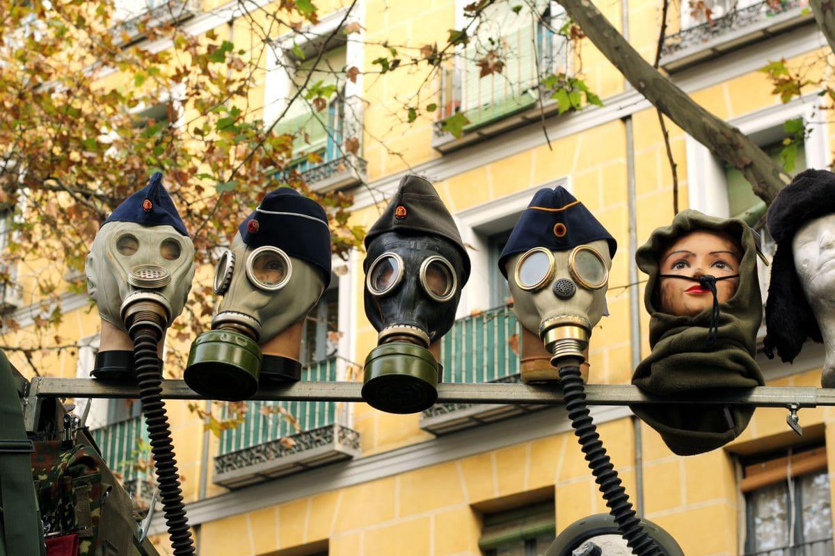 El Rastro Gas Masks