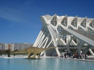 Visit the famous City of Arts and Sciences on your trip to Valencia.