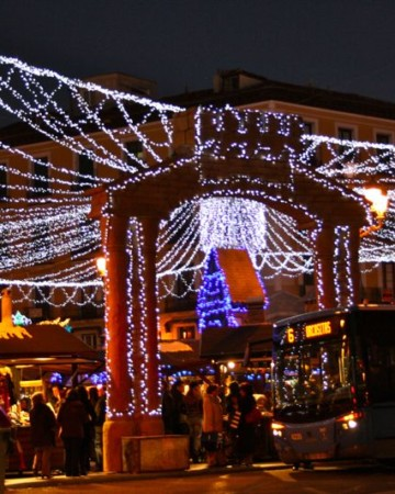 Christmas markets in Spain are all about lights, sweets and nativity scenes.