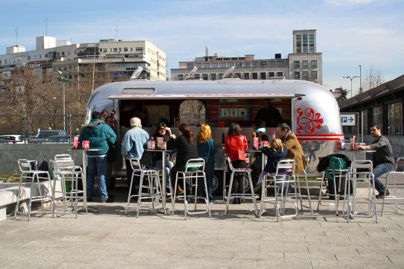 Food Trucks In Morocco