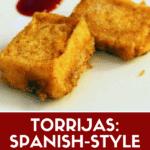 Torrijas recipe pin