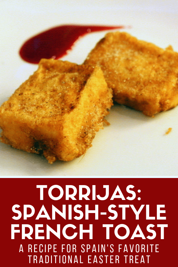 Torrijas, or Spanish-style French toast, are a popular sweet breakfast or dessert option during the Easter season in Spain. But if you don't want to wait until springtime, no worries. This easy torrijas recipe will show you how to make this authentic typical treat at home! #Spain #desserts