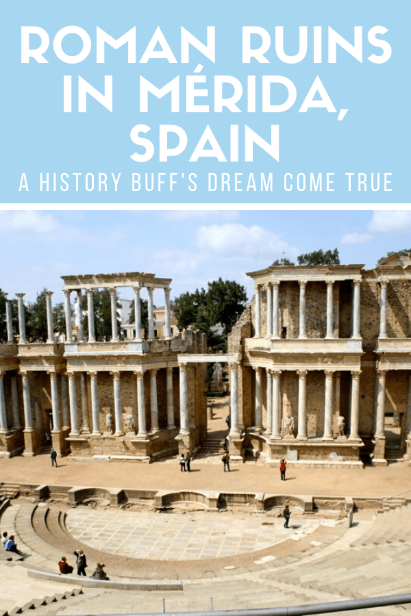 Exploring Roman art and ruins in Mérida, Spain is a must for anyone who loves history (and a great opportunity for photography lovers, too)! This travel guide will show you what you can't miss and even has some great suggestions for local food.