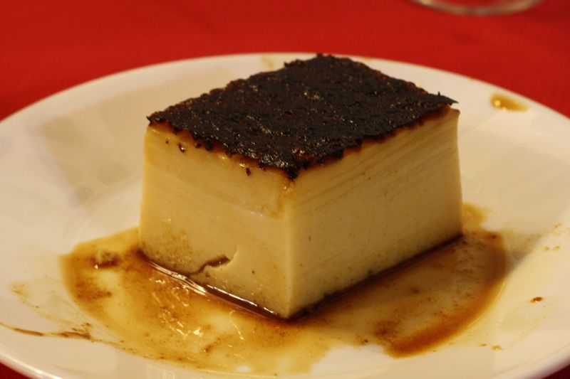 Spanish flan de huevo, one of many delicious Spanish egg recipes.