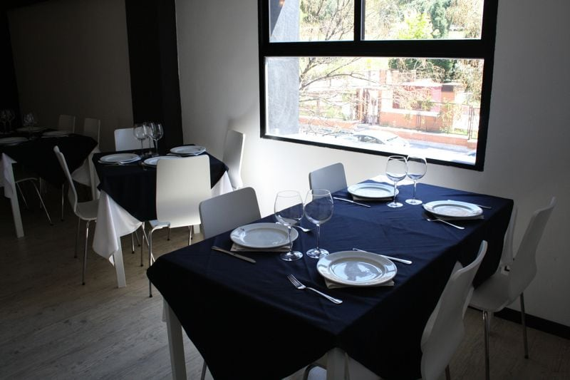 Dining area at Ti Amo pizzaría