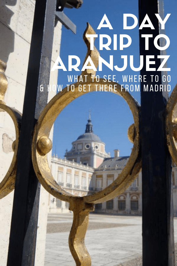 Travel a little ways outside of Madrid and you'll reach Aranjuez, one of the most beautiful (and most Instagram-worthy!) spots in central Spain. It's one of the easiest day trips from Madrid, and well worth it for the stunning architecture (including the famous palace) and great local food. This guide will show you what to do and where to go so you can make the most of your trip!