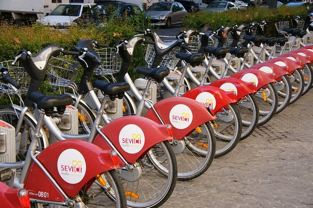 Seville's Sevici: How to Rent a Bike in Seville