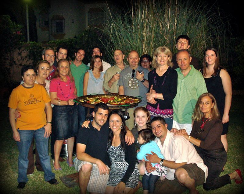 My Family in Spain