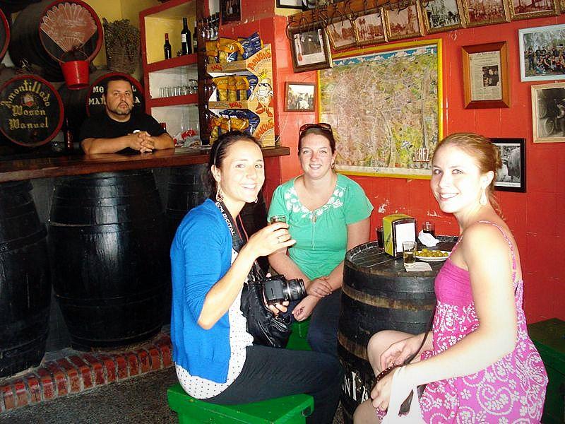 Jerez sherry bar