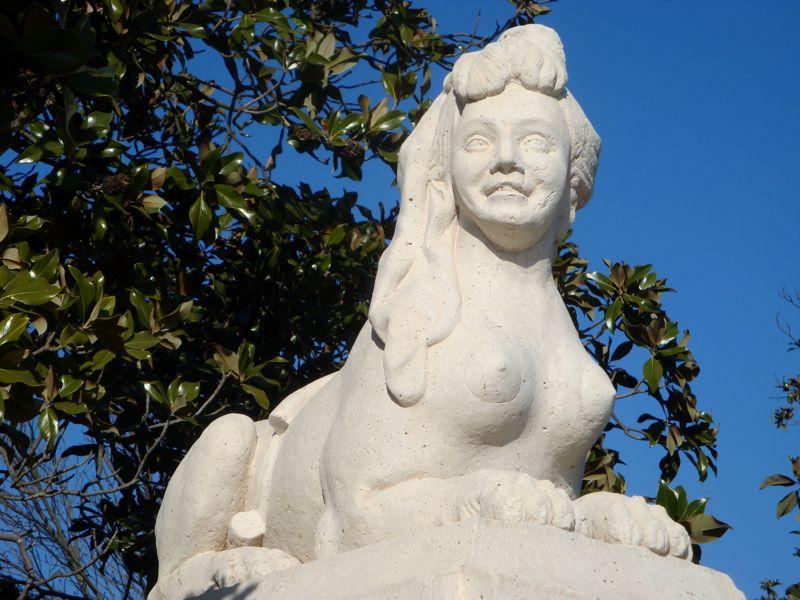 Sphynx Statue Aranjuez