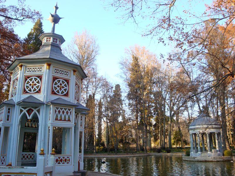Aranjuez Gardens Gazebos