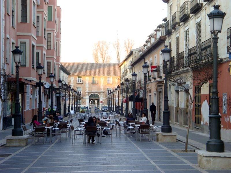 Aranjuez street cafes