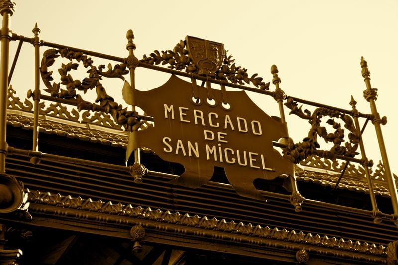24 hours in Madrid: The San Miguel market next to Madrid's Plaza Mayor is a definite must for foodies staying in the Sol/Gran Via neighborhood!