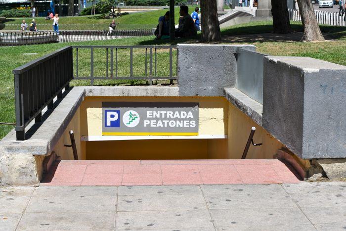 The Parking Garage Entrance