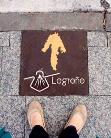 Streets of Logroño Spain