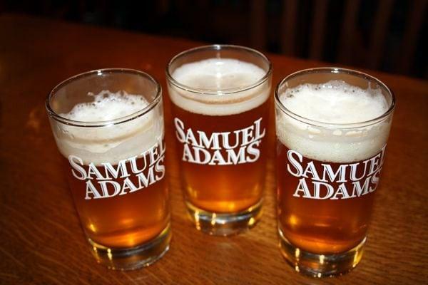 Samuel Adams Beer Glasses