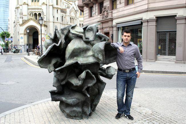 Bilbao street sculpture