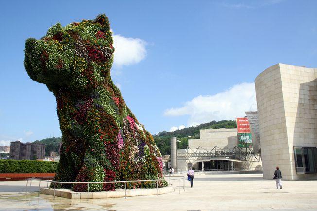 Flower Puppy Guggenheim