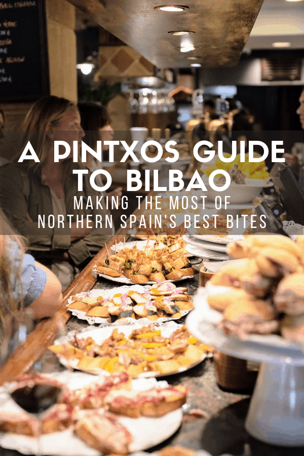Forget tapas—in northern Spain's Basque Country, pintxos are king. We stuck to tradition on our trip to Bilbao and decided to eat our way around the city pintxo by pintxo! This food guide details exactly what to eat and where to eat it if you want to make the most of your time in Spain's best foodie region.