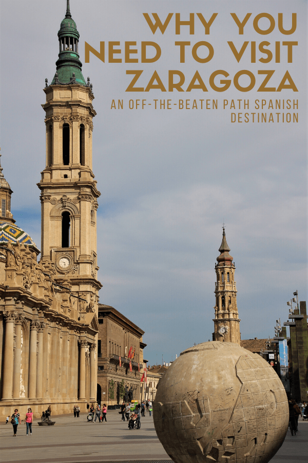 Right in between Barcelona and Madrid is the small but fascinating city of Zaragoza. It's one of the most interesting places to visit in Spain, with great traditional food, a beautiful cathedral, friendly people and so much more. In this travel guide, I've rounded up five reasons to add Zaragoza to your Spanish itinerary!