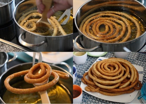 Churros recipe - Making Churros - an easy churros recipe
