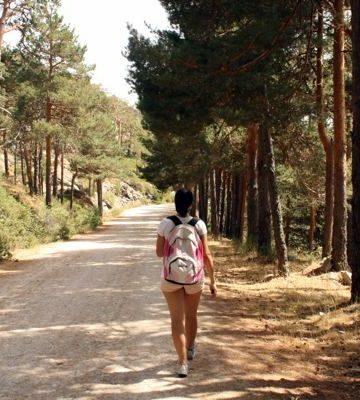 Lauren hiking