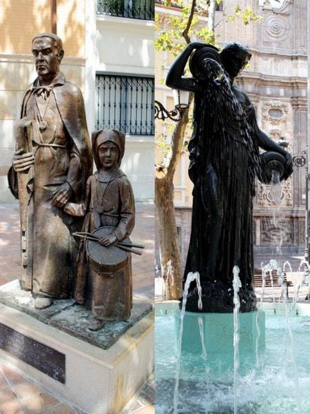 zaragoza statues