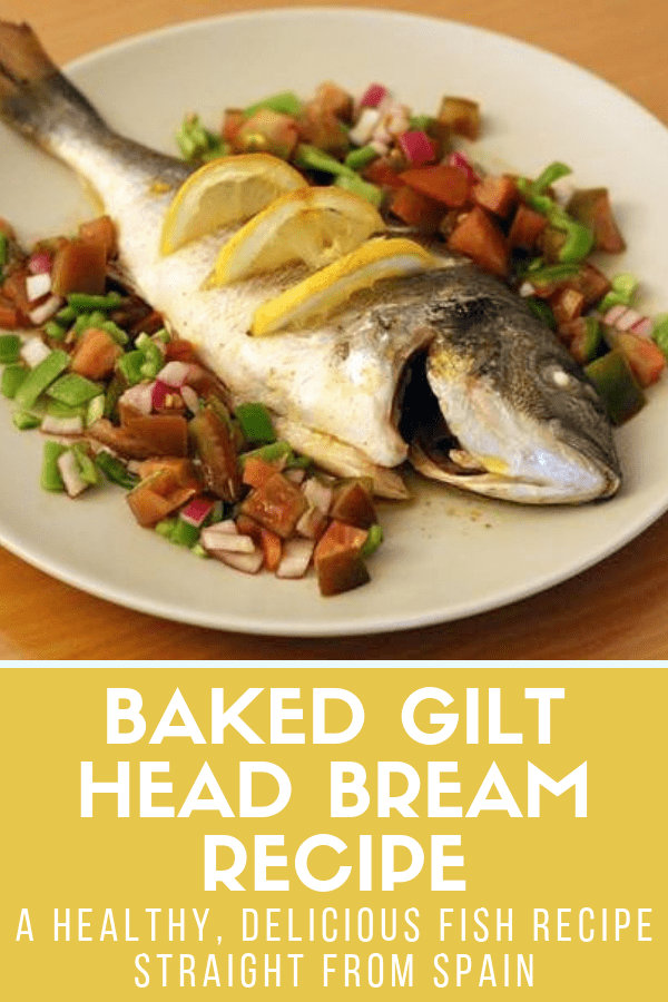 Spanish food isn't all tapas and paella—there's some pretty fabulous seafood to be had in Spain as well. Today, I'll show you how to make one of my favorite recipes: baked gilt head bream, or dorada in Spanish. It's healthy, simple, and makes an amazing dinner! #Spain #seafood