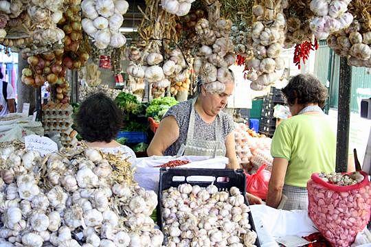 Garlic booth