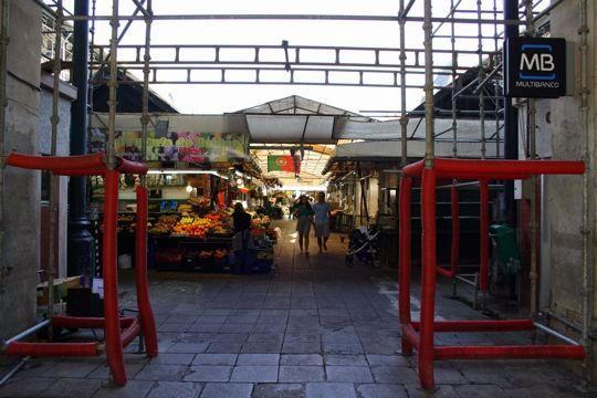 Bolhao Market entrance