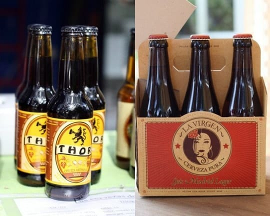The craft beer scene in Spain is booming and few places is that more evident than in the capital of Madrid. Local brews like La Virgen and Thor are changing the way Madrileños drink beer.