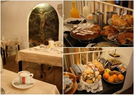 Breakfast at Il Convento dei Fiori di Seta