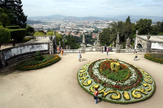 View at Bom Jesus do Monte