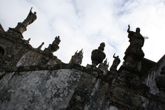 Statues at Bom Jesus do Monte
