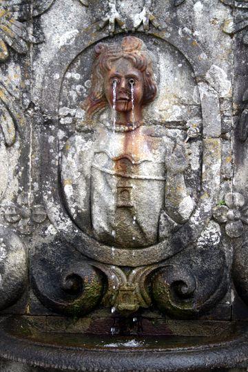 Crying statue Bom Jesus do Monte