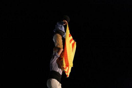 Castellers flag
