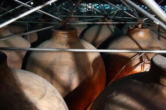 olive oil casks