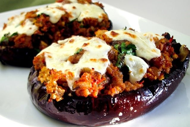Spanish Stuffed Eggplant Recipe - Berenjenas Rellenas