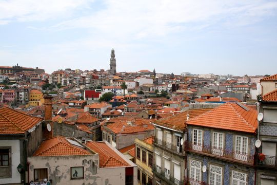 View from Porto Cathedral