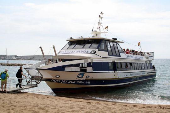 ferry in lloret de mar