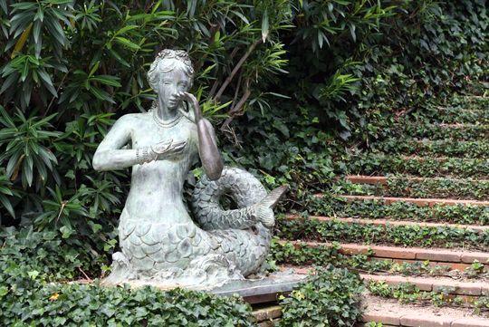Santa Clotilde mermaid
