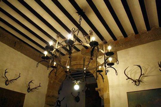 Inside Castillo de Canena